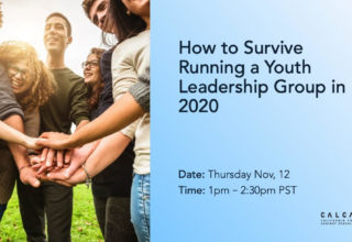 How to Survive Running a Youth Leadership Group in 2020