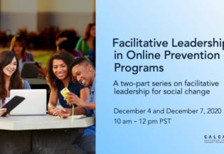 Facilitative Leadership for Online Prevention Programs