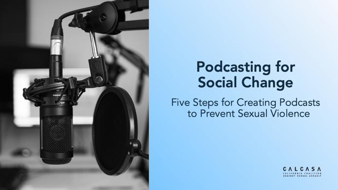 Podcasting for Social Change